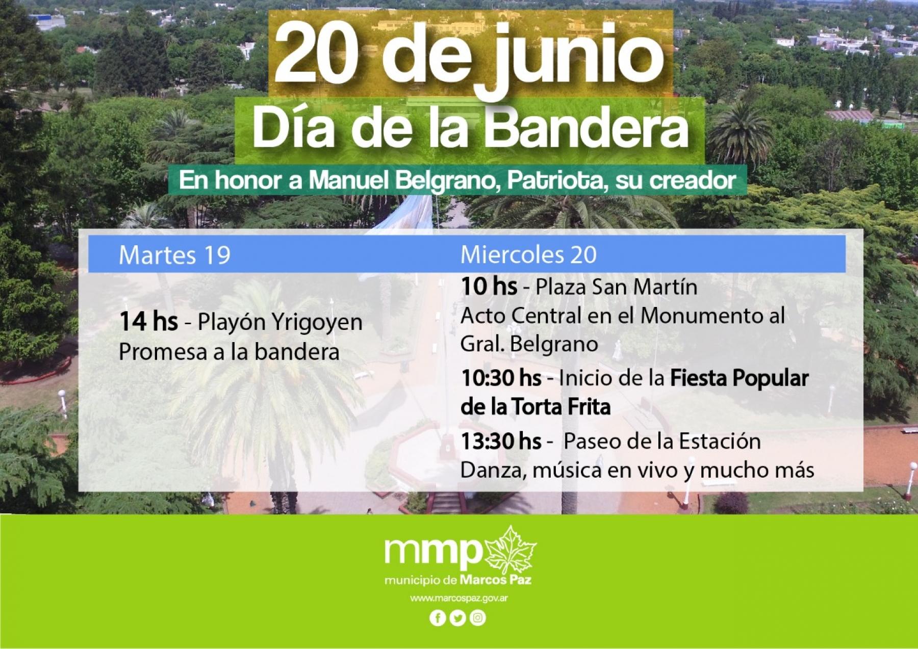 Actividades en el marco del 20 de Junio DIA DE LA BANDERA ...